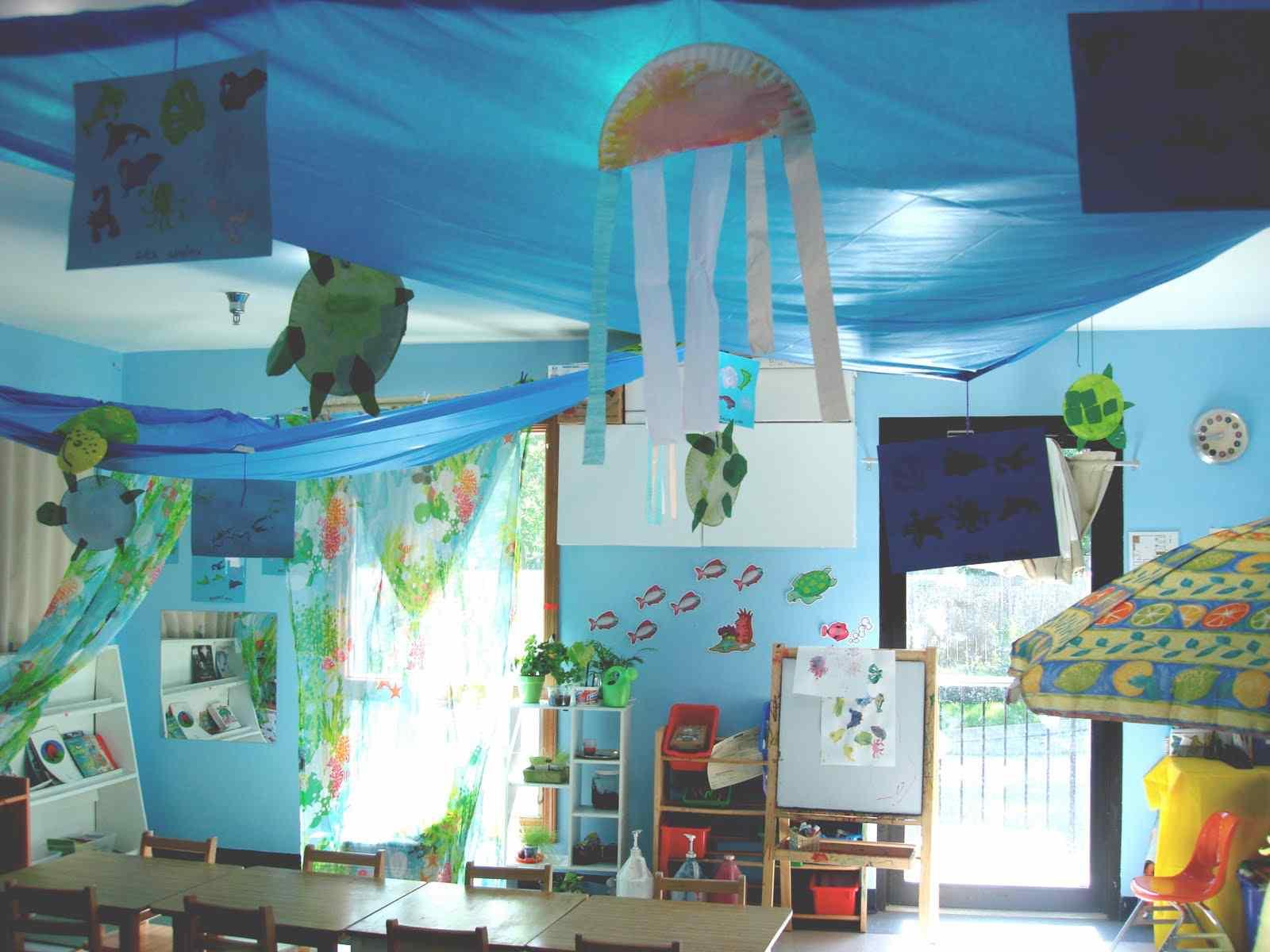 Sunday School Classroom Design Ideas ~ Decora con plástico de polietileno por metros