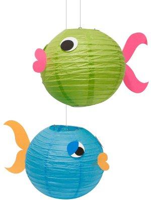 Personaliza tus l mparas de papel para tu evento for Imagenes de peces chinos