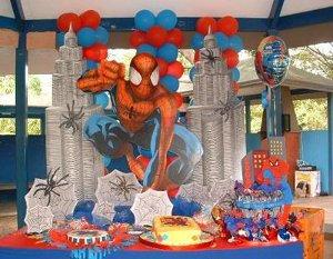fiesta hombre araña