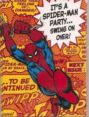 invitacin fiesta de cumpleaños hombre araña