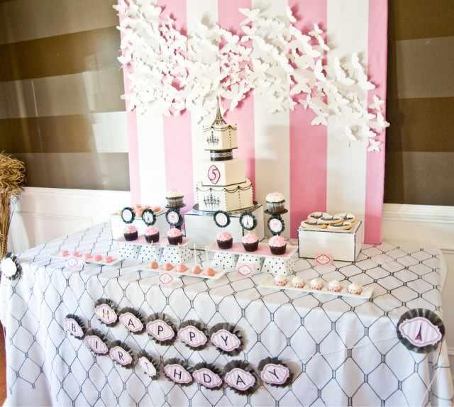 Fiesta par s en primavera for 18 birthday party decoration ideas