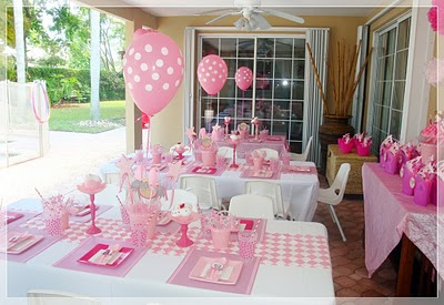 Fiesta pinkalicious - Decoracion fiesta rosa ...