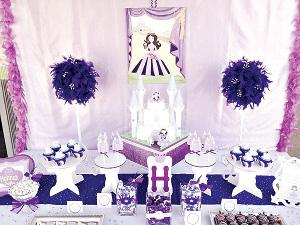 fiesta princesa sofia decoraciones en bodegas ilusion