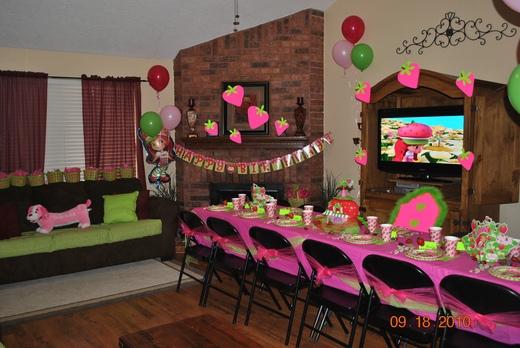 Fiesta rosita fresita - Decoracion fiesta rosa ...