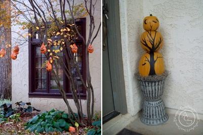 arboles de halloween para exteriores al aire libre