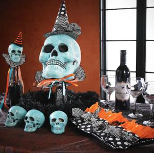 Decoraciones de halloween con calaveras - Decoracion para halloween fiestas ...
