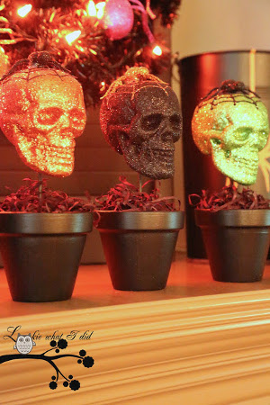 decoracion con calaveras para halloween
