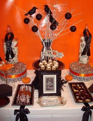 Decora tu fiesta de halloween con cuervos - Decoracion para halloween fiestas ...