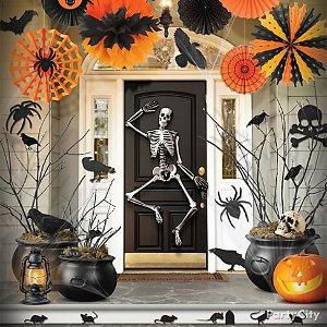 Decora tu fiesta de halloween con cuervos - Ideas para halloween decoracion ...