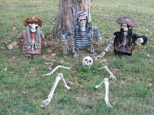 Scary homemade halloween decorations - Tem 225 Ticas Para Decorar En Halloween Vol 2 Lacelebracion Com