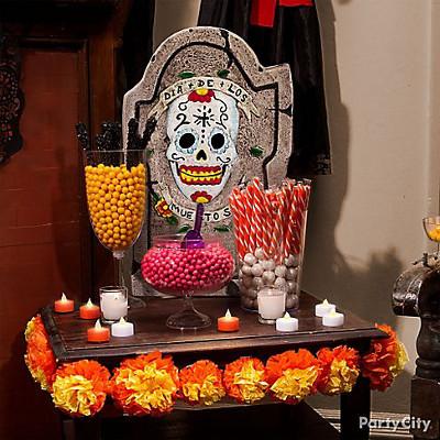 fiesta tematica de halloween dia de los muertos swikar candy