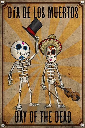 fiesta tematica de halloween dia de muertos