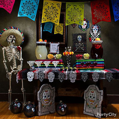 halloween party decor on a budget