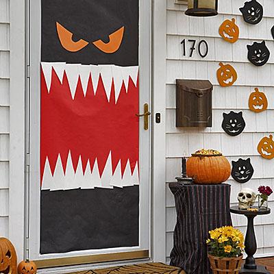 Puertas de halloween vol 3 for Puertas decoradas halloween calabaza