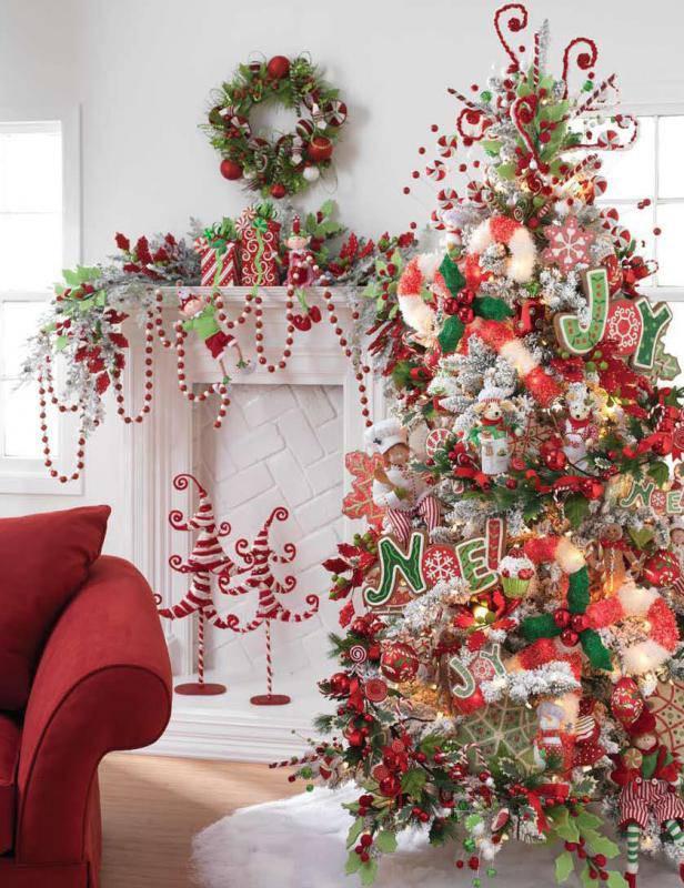 Tematicas Para Decorar Tu Arbol De Navidad Vol 1 Lacelebracioncom - Como-decorar-el-arbol-navideo