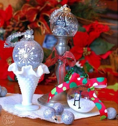 Personaliza tus bolas de navidad vol 2 - Bolas navidad transparentes ...
