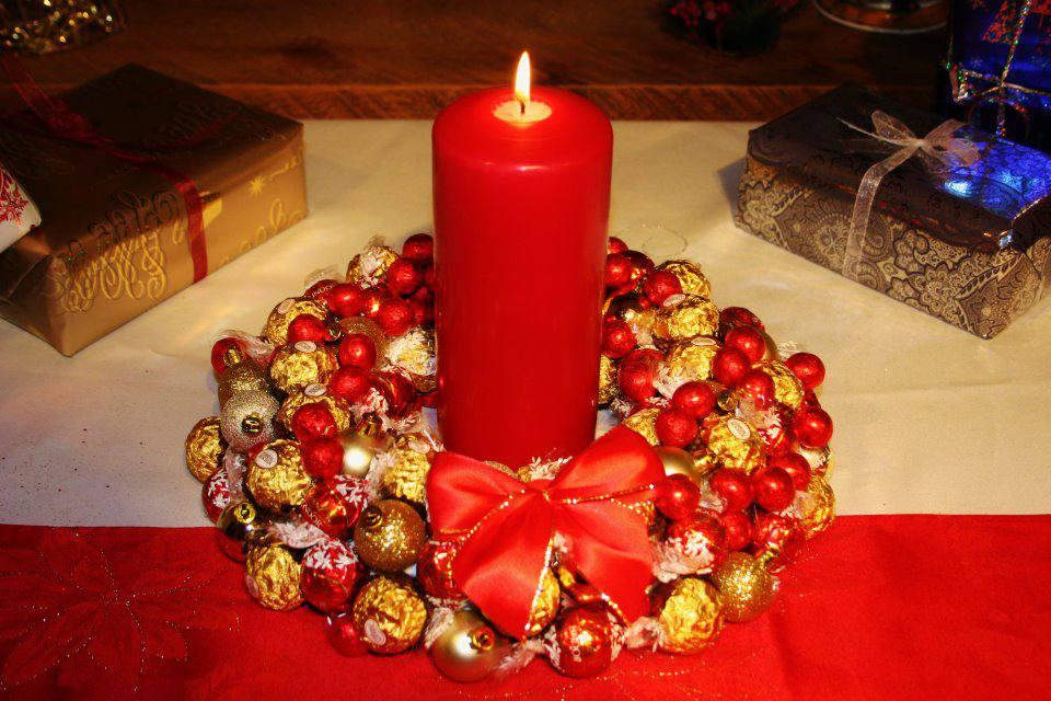 Coronas comestibles de navidad - Como hacer coronas de navidad ...