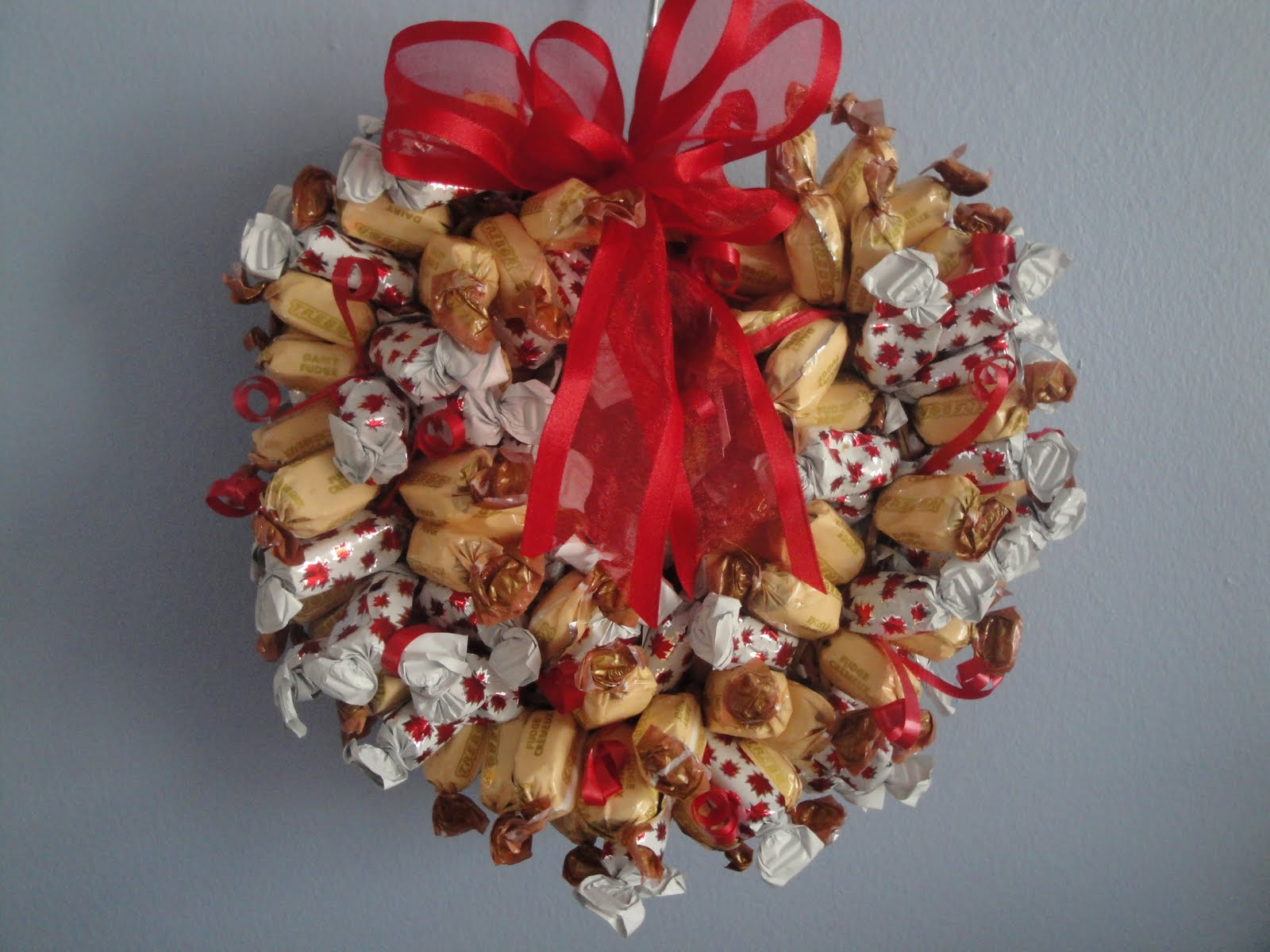 Coronas comestibles de navidad - Coronas de navidad para puertas ...