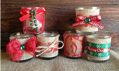 6 decoraciones con cinta de arpillera - Decorar macetas con arpillera ...