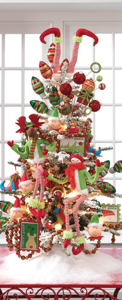 8 tendencias en decoraciones navide as de 2013 - Arboles de navidad decorados 2013 ...