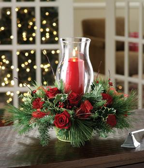 Tips para decorar con velas tus centros de mesa navide os for Centros de navidad con velas