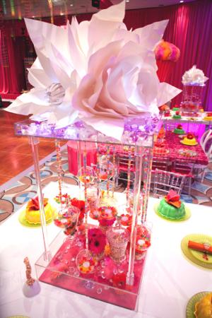 centros de mesa con frascos de boticario la caleñita