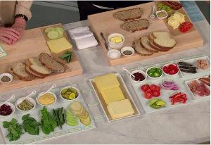 barra de sandwiches para fiestas y eventos