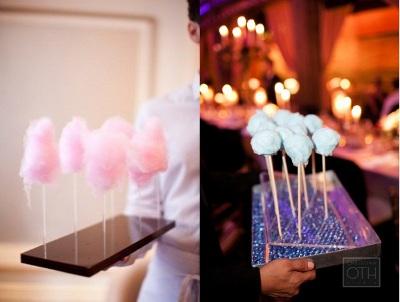 mini algodones de dulce para fiestas y eventos