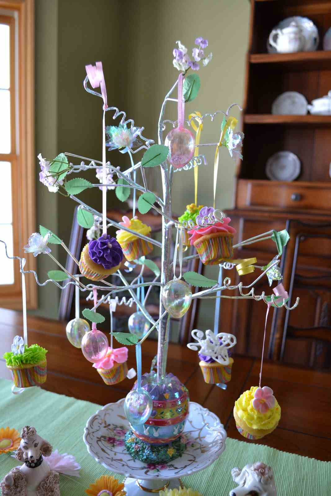 arboles de cupcakes