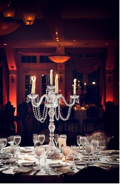 Decora con candelabros tus mesas - LaCelebracion.com
