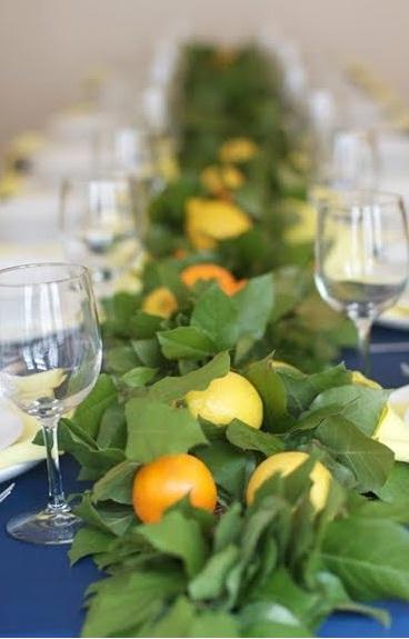 Centros de mesa con naranjas - Centros de mesa con limones ...