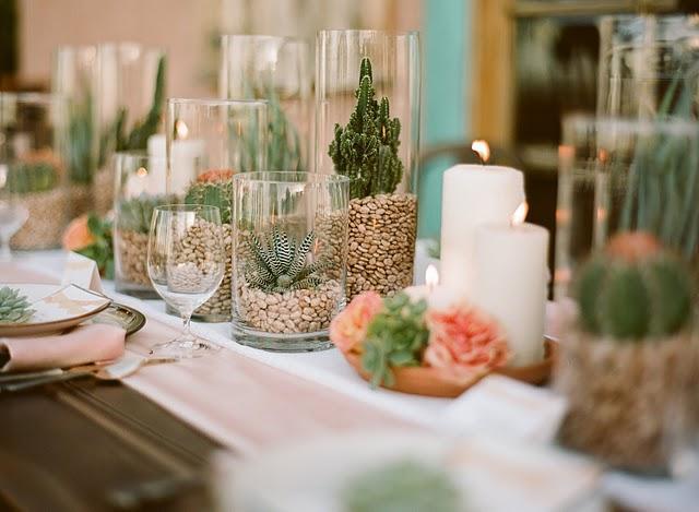 centros de mesa con granos de legumbres. Black Bedroom Furniture Sets. Home Design Ideas