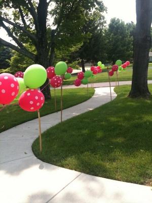 5 decoraciones de entradas al aire libre con globos for Ornamentacion de 15 anos