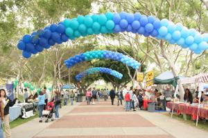 decoraciones de entradas en exteriores con globos Mercadolibre