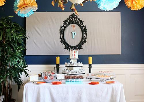 Decora tu mesa dulce con marcos de espejos - Decoracion con marcos ...