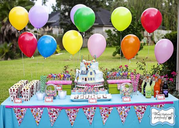 Decora tu mesa dulce solamente con globos - Decora con globos ...