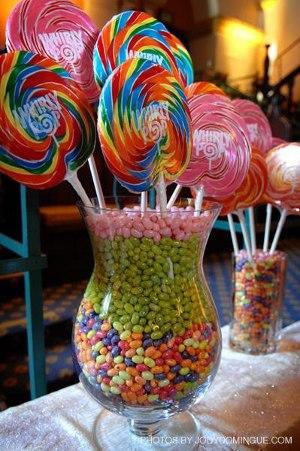 Tips para una mesa dulce vol 2 for Arreglos de mesa con dulces