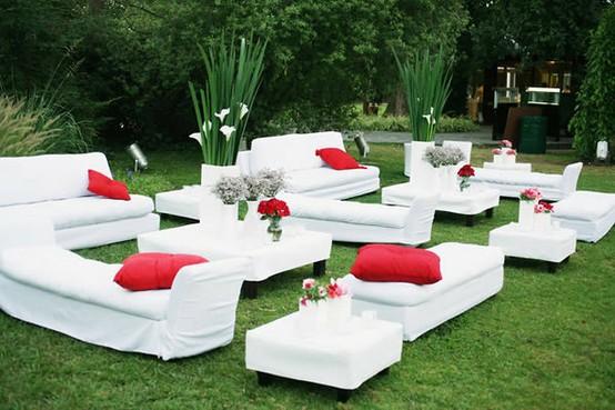 Decora con mobiliario lounge tu fiesta - LaCelebracion.com