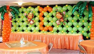 paredes de globos Mercadolibre