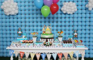 decoraciones paredes de globos Mercadolibre