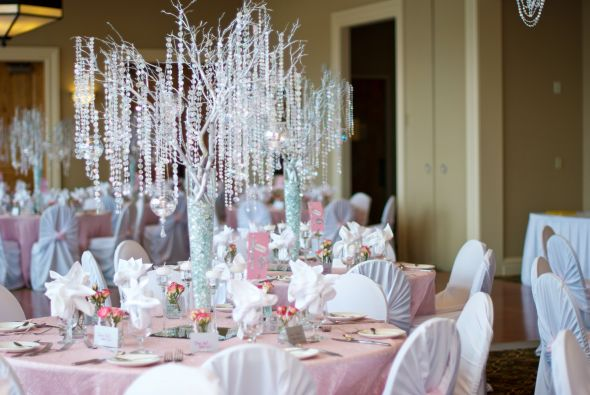 Decora colgando las velas - Cristales para mesa ...