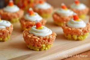 cupcakes de arroz krispy