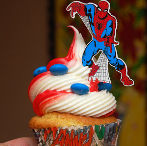 cupcakes piñata rellenos de caramelos