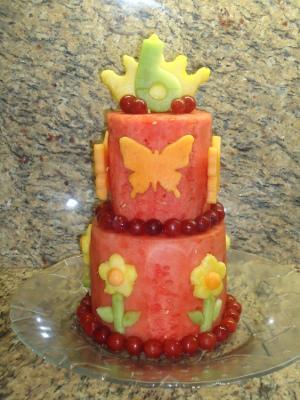 torta de sandia, torta de patilla
