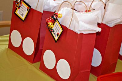 bolsas de papel para fiestas infantiles
